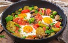 Zajtrk, ki nasiti in pomaga izgubiti kilograme