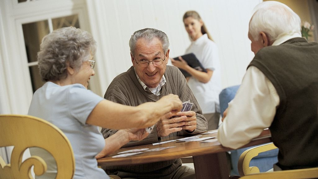 Senior adult games and activities