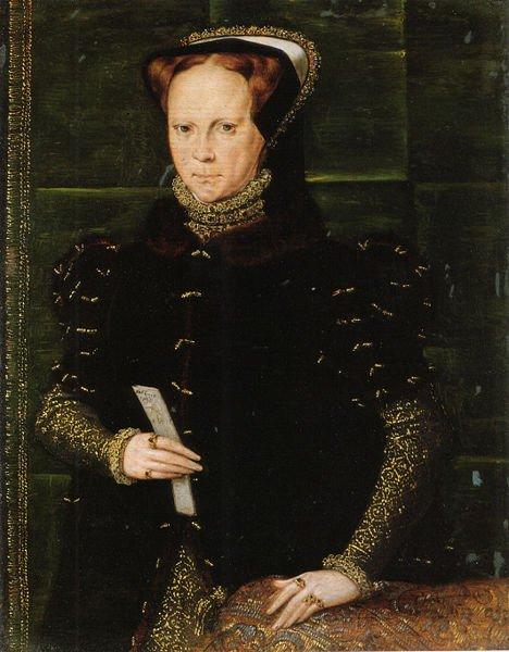 Angleška kraljica Mary (1516-1558), imenovana tudi Bloody Mary (krvava Marija), je ukazala masovni poboj protestantov v Angliji z namenom narediti svoje kraljestvo spet katoliško.