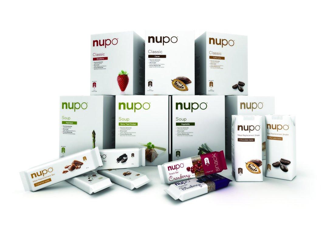 NUPO ponuja pestro izbiro izdelkov, ki vam olajšajo hujšanje.
