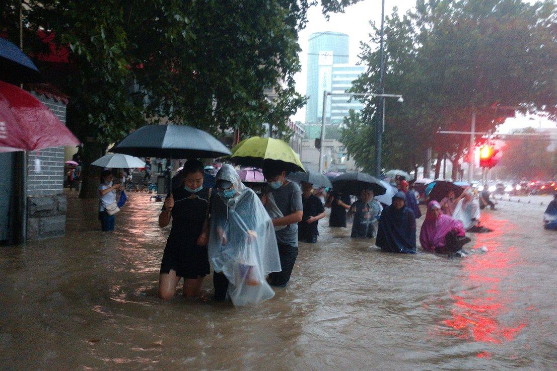 Poplave na Kitajskem