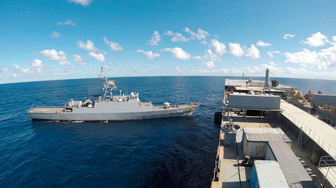 Iranski ladji v Atlantiku