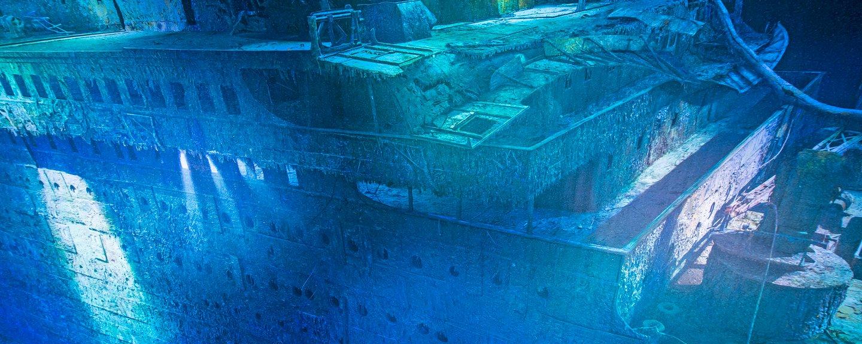 Mož, ki je našel Titanik: Po začetnem veselju nas je prevzela razsežnost ...