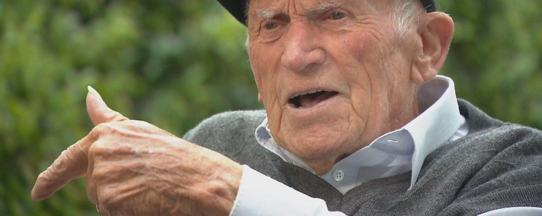 Zadnji še živeči tigrovec praznuje 100 let: 'Sam sebi se čudim, da sem še vedno ...