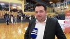 Selektor Damir Grgić o tekmi z Romunijo