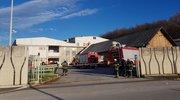 Nevarnost in evakuacija v Steklarni Rogaška