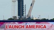 Izstrelitev Falcona 9 s človeško posadko.