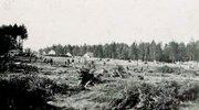 Začetki gradnje tovarne leta 1941.