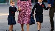 Prvi dan šole za princesko Charlotte in princa Georgea