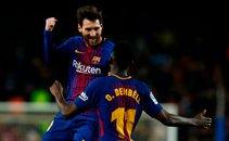 Messi in Dembele Barcelona Girona