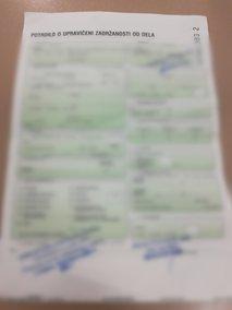 Elektronski bolniški list: do kdaj se mora papirnati obrazec posloviti?