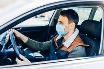 Ali lahko vozim z zaščitno masko?