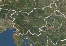 Potresni sunek v bližini Vipave čutili vse do Zagreba