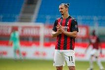 Milan preživel neposredni rdeči karton Zlatana in vpisal nove tri točke