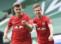 Bayern še z enim spodrsljajem, Kamplov Leipzig pa ne popušča