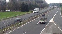 VIDEO: Vožnja v napačno smer na avtocesti. Policija opozarja na nevarno početje