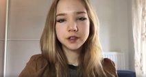''Živi v mehurčku'': kdo je mlada anti-Greta?
