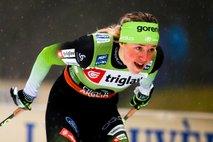 Lampičeva druga na sprinterski tekmi v Oberstdorfu