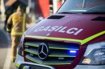 V požaru stanovanjske hiše v Murski Soboti ena oseba poškodovana