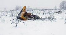 Nesreča letala v Rusiji