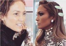 J. Lo: od naravnega videza do glamurozne dive na rdeči preprogi
