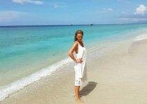 Nina Ivanič z družino uživala na Baliju