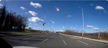 Prvi posnetki meteorja, ki je eksplodiral med Slovenijo in Hrvaško