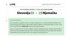 Hrvaški mediji Slovenija - Nemčija