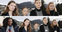 Edino temnopolto aktivistko 'izrezali' s skupinske fotografije v Davosu