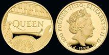 Legendarna skupina Queen upodobljena na zbirateljskem kovancu