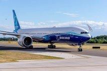 Boeing 777X: največje dvomotorno potniško letalo končno poletelo