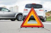 Na Celovški cesti v Ljubljani trčila štiri vozila