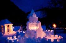 V Črni na Koroškem nastali osupljivi gradovi v čast legendi o kralju Matjažu