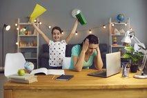 Delo in šolanje od doma: Bodimo malo manj zahtevni do sebe in otrok