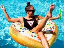 J.Lo uživa pod vročim miamijskim soncem