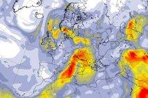 Afriški zrak nam prinaša že tretji letošnji vročinski val