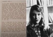 Na dražbi so prodali osebne predmete ameriške pesnice Sylvie Plath