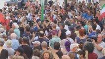 Na tisoče protestnikov proti ukrepom, v Nemčiji cepljenim več svobode