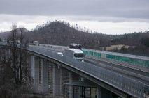 Dars: Potresi niso vplivali na objekte na avtocestnem omrežju