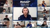 Krstna virtualna dirka razreda motoGP podrla vse rekorde v E-športu