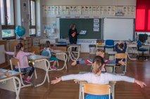 Danes je moja šestletnica šla nazaj v 1. razred
