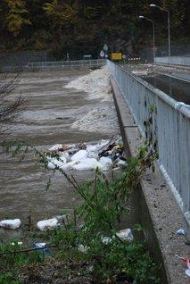 Reka Drava pri mostu za Lovrenc na Pohorju - 5