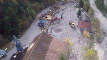 Zadnje deževje povzroča nove težave nad Belco