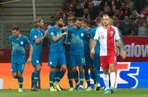 Poljaki premočni: Slovenija na koncu kvalifikacij boljša le od Izraela in Latvije
