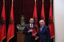 Čeferin na delovnem obisku v Albaniji: Pomemben je razvoj malih zvez