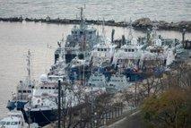 Rusija vrnila zajete ukrajinske ladje