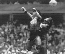 Nogometni bog, božja roka, ploskanje Realovih navijačev – Diego Armando Maradona