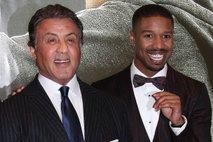 Sylvester Stallone in Michael B. Jordan