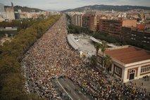 V Barceloni po podatkih policije več kot pol milijona protestnikov