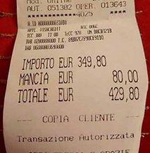 Ostala sta brez besed, saj je račun znašal 430 evrov